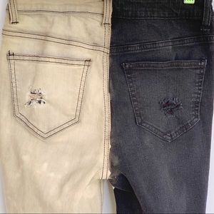 No Boundaries Jeans - No Boundaries High Rise Crop Flare Custom Jeans